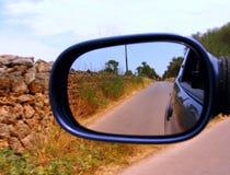 Velocidad en el camino del campo Imágenes de archivo libres de regalías