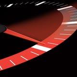 Velocidad o dial que muestra potencia Fotografía de archivo libre de regalías