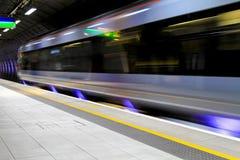 Velocidad subterráneo Imagenes de archivo