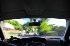 Velocidad urbana Fotografía de archivo libre de regalías