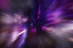 Velocidad violeta Fotografía de archivo libre de regalías