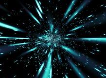 Velocidade azul Fotos de Stock Royalty Free