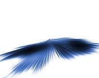 Velocidade azul ilustração stock
