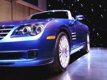 Velocidade azul Fotografia de Stock Royalty Free