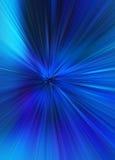 Velocidade azul fundo borrado Imagens de Stock