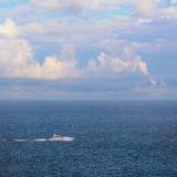 velocidade-barco Imagens de Stock