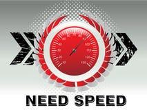 Velocidade da competência de carro Fotos de Stock Royalty Free