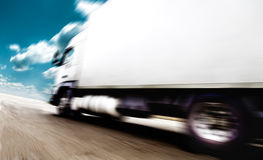 Transporte e velocidade ilustração do vetor