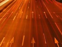 Velocidade da luz Fotografia de Stock