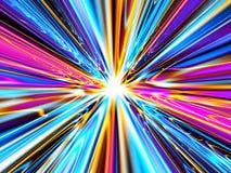 Velocidade da luz ilustração stock