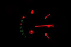 Velocidade do calibre de carro Imagem de Stock
