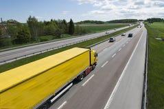 velocidade do caminhão Imagem de Stock Royalty Free