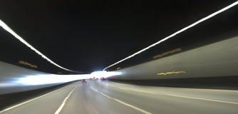 Velocidade do túnel Fotografia de Stock