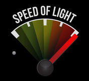 Velocidade do velocímetro do som Foto de Stock Royalty Free