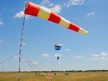 Velocidade do vento Fotografia de Stock Royalty Free