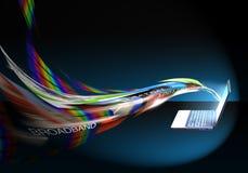 Velocidade/faixa larga do Internet Imagem de Stock Royalty Free