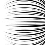 A velocidade horizontal cômica alinha o fundo Imagens de Stock Royalty Free
