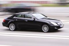 Velocidade luxuosa do carro imagens de stock