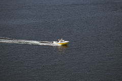 Velocidade na água Fotografia de Stock