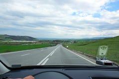 Velocidade na estrada Foto de Stock Royalty Free