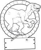 Velociraptor Royaltyfri Foto