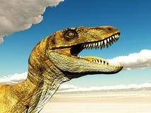 Velociraptor 3D illustratie vector illustratie