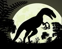 Velociraptor del dinosaurio Imagen de archivo