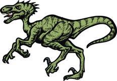 Velociraptor dinosaur Royalty Free Stock Image