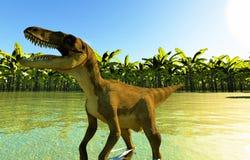 Velociraptor the dinosaur Stock Image