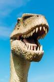 Velociraptor in Novi Sad Dino Park Stock Images