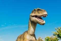 Velociraptor in Novi Sad Dino Park Royalty Free Stock Photography