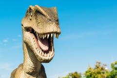 Velociraptor in Novi Sad Dino Park Royalty Free Stock Photos