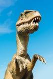 Velociraptor in Novi Sad Dino Park Royalty Free Stock Photo