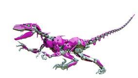 Free Velociraptor Robot Doing A Fast Run Royalty Free Stock Photos - 165158378