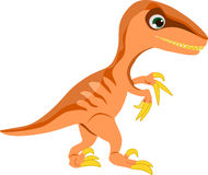 Velociraptor. Smart small dinosaur and they can move very quickly Stock Photo