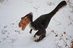 Velociraptor fotografia stock