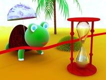 Velocista da tartaruga Imagem de Stock