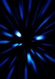 Velocità blu Fotografia Stock Libera da Diritti