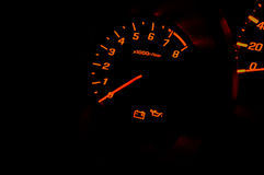 Velocità del calibro di automobile Fotografia Stock Libera da Diritti