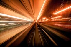 Velocità del filo di ordito fotografia stock libera da diritti