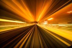 Velocità del filo di ordito Fotografia Stock