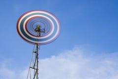 Velocità del vento tailandese Fotografie Stock