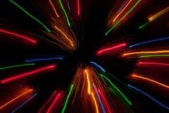 Velocità della luce Fotografie Stock Libere da Diritti