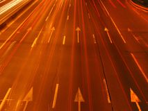 Velocità della luce Fotografia Stock
