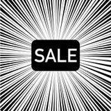 velocità della vendita nera dell'etichetta del fondo della luce fotografia stock