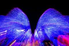 Velocità di luce al neon Immagine Stock Libera da Diritti