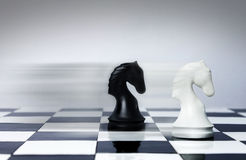 Velocità di scacchi Fotografia Stock
