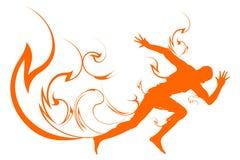 Velocità e spirito Immagini Stock