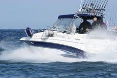 Velocità veloce che pesca a traina Immagini Stock