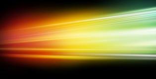 Velocità dell'indicatore luminoso Immagine Stock